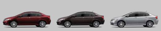สีรถของ Honda City 2013 ฮอนด้า ซิตี้  2013