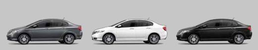 4 สีรถของ Honda City 2013 ฮอนด้า ซิตี้  2013