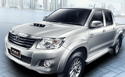 All New toyota Hilux vigo 2014 – 2015 ราคา