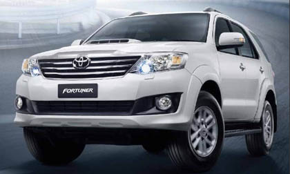 All New Toyota Fortuner 2014 – 2015 ราคา