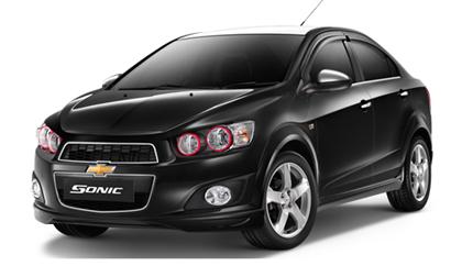 รีวิวภายนอกของ Chevrolet Sonic เชฟโรเลต โซนิค