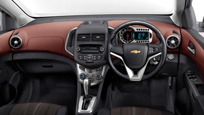 รีวิวภายใน  Chevrolet Sonic  เชฟโรเลต โซนิค