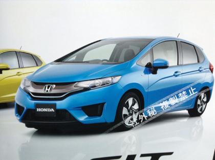 Honda Jazz ฮอนด้า แจ็ส โฉมใหม่ที่หลุดออก ว่าที่ Honda Jazz ฮอนด้า แจ็ส 2014