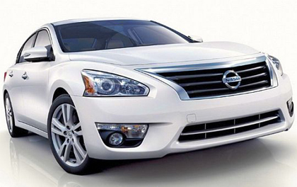 NissanTeana Full Modelchange March Minorchange 2013 เน้นความปลอดภัยเป็นที่หนึ่ง