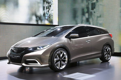 มาแล้ว Honda Civic Tourer  ฮอนด้า ซีวิค 2014 ที่กำลังจะเปิดตัวปีหน้า