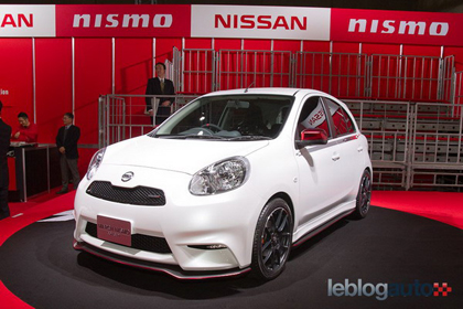 Nissan March นิสสัน มาร์ช เปิดตัว Nismo และ Nismo S อย่างสวยงามจริง ๆ เลย