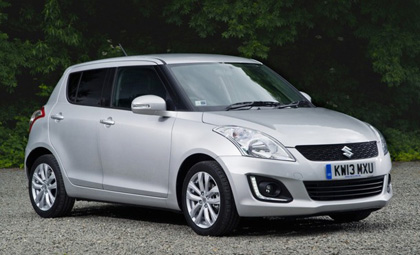 Suzuki Swift ไมเนอร์เชนจ์ 2013 เปิดตัวเป็นทางการที่อังกฤษ