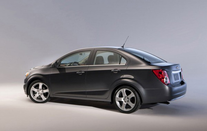 Chevrolet Sonic 2014 ใช้ระบบการทำงานเชื่อมโยงแบบไร้สาย