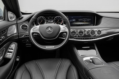 Mercedes-Benz S63 AMG แรงด้วยแรงม้า 585 ตัวและหรูอย่างที่สุดเลย