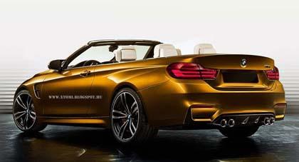 BMW's New M4 เน้นที่การออกแบบ Sport เฉียบกว่าเดิม