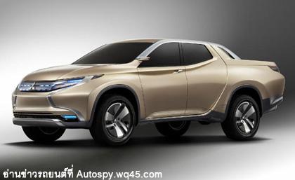 Mitsubishi GR-HEV  กระบะที่ออกแบบทรง Sport อย่างเฉียบคม