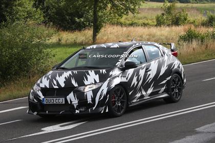 โฉม Honda Civic 2015  Type-R ที่เน้นเริ่องของความแรงมาที่หนึ่ง