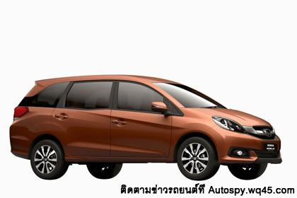 Honda Brio-Based Mobilio เปิดตัวอย่างเป็นทางการที่อินโดนิเซีย ซึ่งพัฒนามาจาก Honda Brio MVP