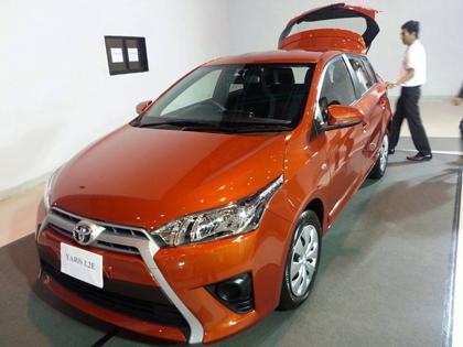 All New Toyota yaris Eco Car 2013 - 2014 โตโยต้า ยาริส อีโคคาร์ ราคาตารางผ่อนดาวน์
