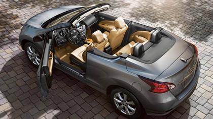 มาดู Nissan Murano Cabriolet นิสสัน มูราโน่ ครอสคาบริโอเลต เปิดประทุนจาก Nissan