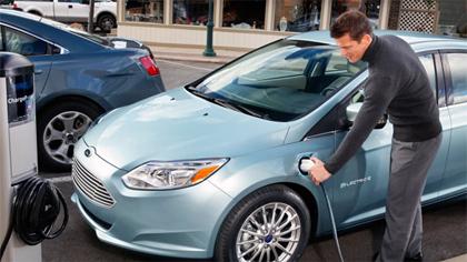 Ford Focus Electric ฟอร์ด โฟกัส อิเล็กทริค กับการออกแบบที่สวยงาม