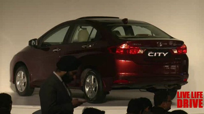 เปิดตัวอย่างเป็นทางการ  All New Honda City 2014 ที่ประเทศอินเดีย