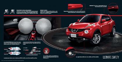 ภายในของ Nissan Juke