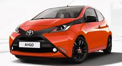 รถใหม่ All New Toyota Aygo Mini Sneaks รถเล็ก ๆ แต่สวยจาก  Toyota