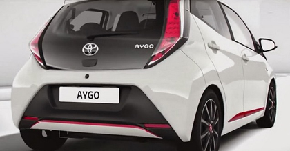 รถใหม่ All New Toyota Aygo Mini Sneaks รถเล็ก ๆ แต่สวยจาก  Toyota4