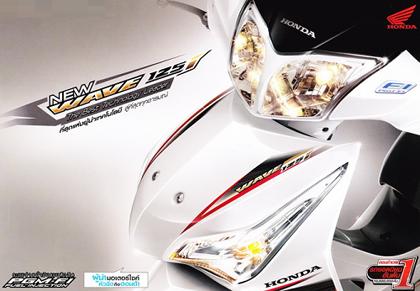 รีวิว ราคา Honda Wave 125i ฮอนด้า เวฟ 125 2014 - 2015 พร้อมตารางผ่อนดาวน์