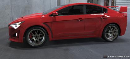 มาดูการออกแบบ  Mitsubishi Lancer EVO XI  2016 กันว่าจะออกมาแบบไหน