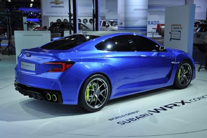 Next Generation Subaru กับการออกแบบที่สวยงามและSport มากขึ้น