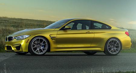 โมเดลการออกแบบของ  BMW M3 และ BMW  M4