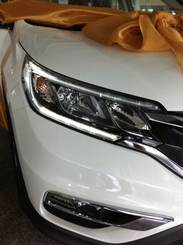Honda CR-V minorchage 2014 - 2015 มาแล้ว ที่จะขายในไทย